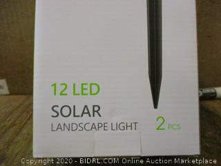 12 LED Solar Landscape 2pcs