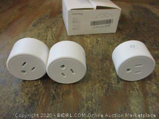 3-Smart Plugs missing one