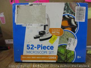 52-Piece Microscope Set