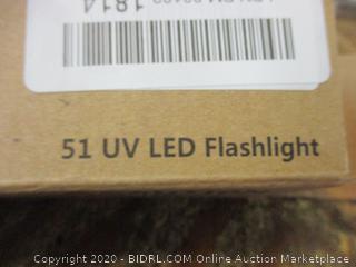 51 UV LED Flashlight