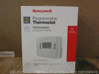 Honeywell Programmable Thermostat Possibly missing pieces