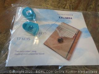 Kalimba  Musical Instrument for Travel