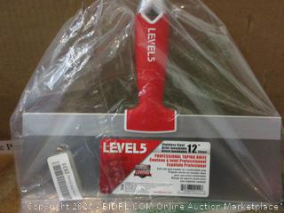Level Professional Taping Knife no box