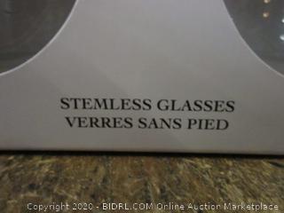 Disney Stemless Glasses