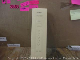 Aukey Surge Protector  5 AC Outlets + 2USB Ports