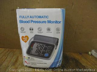 Fully Automatic Blood Pressure Monitor missing pieces , no box