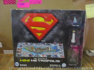 Superman 4D Puzzle
