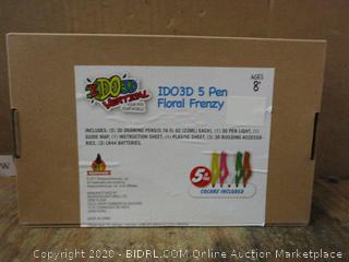 IDO3D Vertical 5 Pen Floral Frenzy