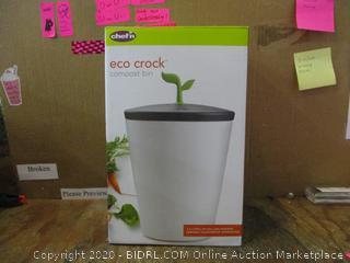 eco crock compost bin