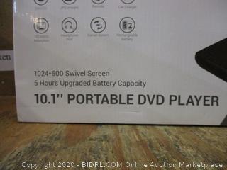 10.1 Portable DVD Player  Minor damage