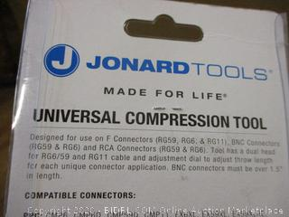 Universal Compression Tool package damage