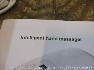 Intelligent hand Massager  Powers on see pictures