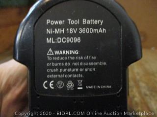 Power Tool Batteries no box