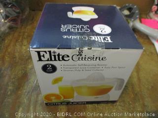 Elite Cuisine Citrus Juicer