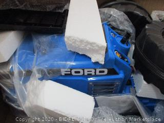 Beyond Infinity - Ford Children's Ride On Tractor, Blue - 12V (RETAIL $243)