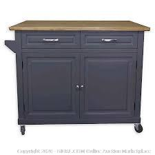Kitchen Island No Tool Gray