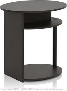 Furinno round end table