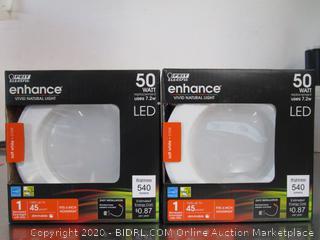 "Feit Enhance 4"" Retrofit Light Kits LED 540 Lumens"