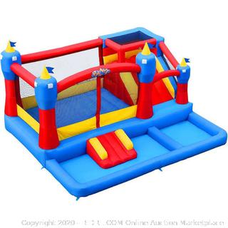 Blast Zone Misty Kingdom Bouncer, Ball Pit and Water Park(Retails $798)