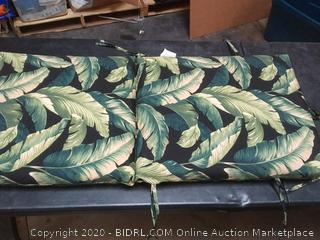 Arden Selections Onyx Cebu Patio Chair Cushion 44 in l x 20 in w x 3.5 in H
