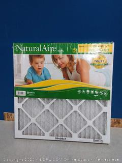 natural aire 20 x 20 x 1filters 2pck