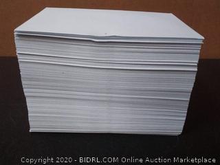6 x 9 Booklet Envelope - 24# White Wove - Open Side- (6 x 9) - Jumbo Envelope Series 250 envelopes