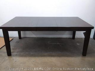M2 Eastwood 94 x 42 inch dining table dark wood