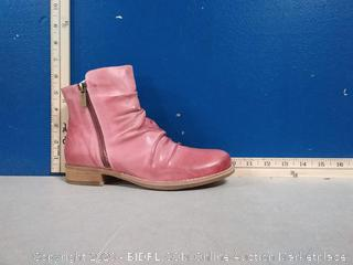 Coltplay Moonlit Ridge Leather Boots - Berry Color - Size 36 (online $139)