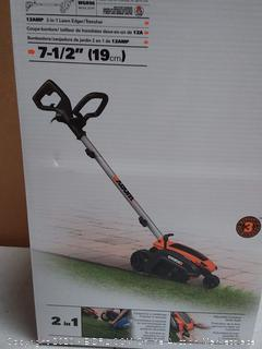 worxs 12 amp 2 in 1 Lawn edger and trencher( Factory sealed box)