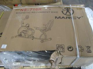 Marcy NS-716R Magnetic Recumbent Bike ($283 Retail)
