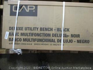 CAP Deluxe Utility Bench (Sealed, $138 Retail)