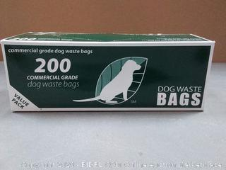 200 Commercial Grade Dog Waste Bags