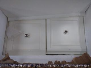 WAKEFIELD 2-PIECE VANITY SET IN WHITE