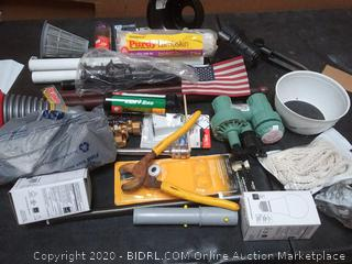 variety box of Hardware items