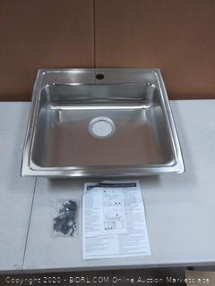 Elkay LRAD2222551 Sink, Lustertone