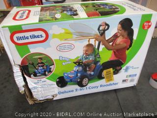 Little Tikes Deluxe 2-in-2 Cozy Roadster