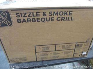 Sizzle and Smoke Barbeque Grill