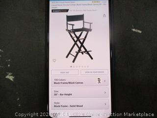 Director Chair Frame