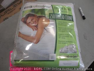Cotton Blend Mattress Pad