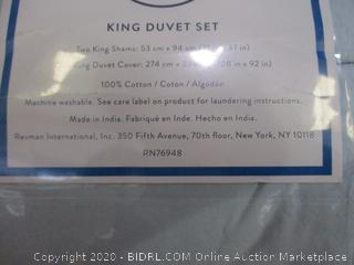 King Duvet Set