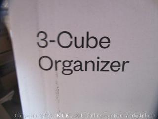 3-Cube Organizer