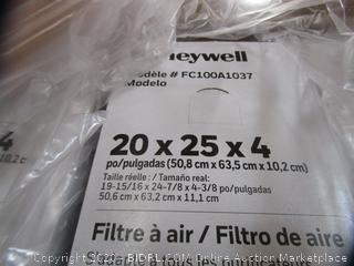 Honeywell Pleated Filter
