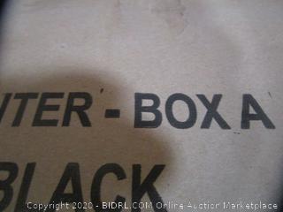 Entertainment Center Box A