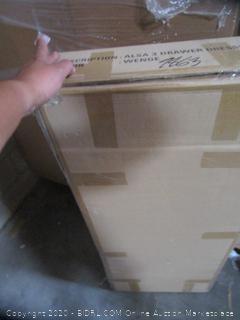 3 Drawer Dresser Box A