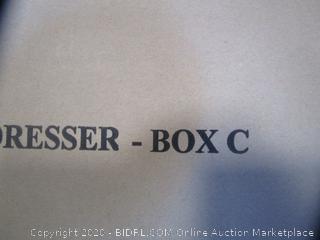 6 Drawer Dresser Box C