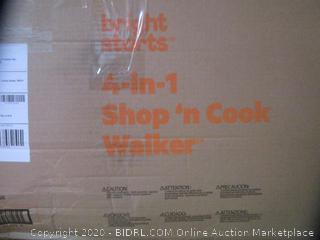 Bright Starts 4-in-1 Shop 'n Cook Walker