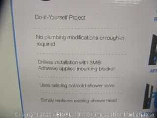 Valore Simplicity Stainless Shower Panel