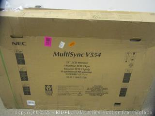"""MultiSync V554 55"""" LCD Monitor"""