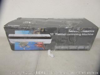 "13"" Thermal Laminating Machine"
