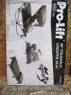 Pro-Lift Foldable Creeper Seat